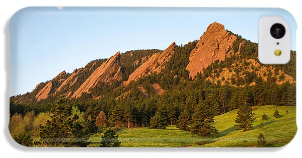 The Flatirons - Spring IPhone 5c Case by Aaron Spong