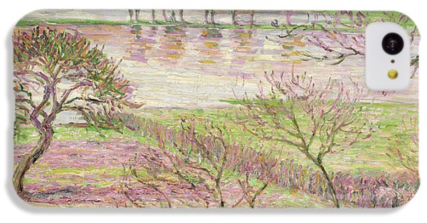 The Flood At Eragny IPhone 5c Case by Camille Pissarro