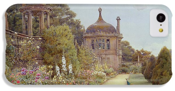 The Gardens At Montacute In Somerset IPhone 5c Case by Ernest Arthur Rowe