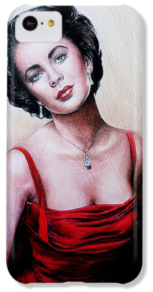 Elizabeth Taylor iPhone 5c Case - The Glamour Days by Andrew Read