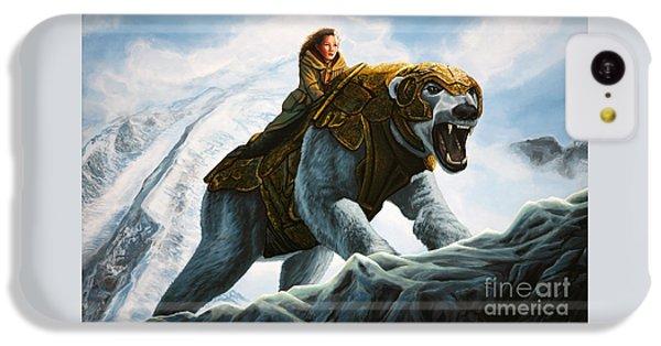 Polar Bear iPhone 5c Case - The Golden Compass  by Paul Meijering