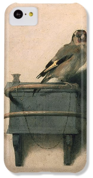 Finch iPhone 5c Case - The Goldfinch by Carel Fabritius