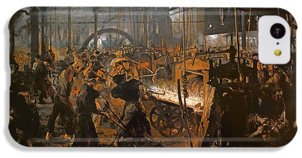 The Iron-rolling Mill Oil On Canvas, 1875 IPhone 5c Case