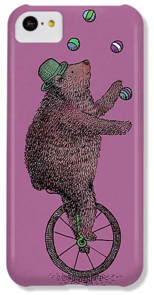 The Juggler IPhone 5c Case by Eric Fan