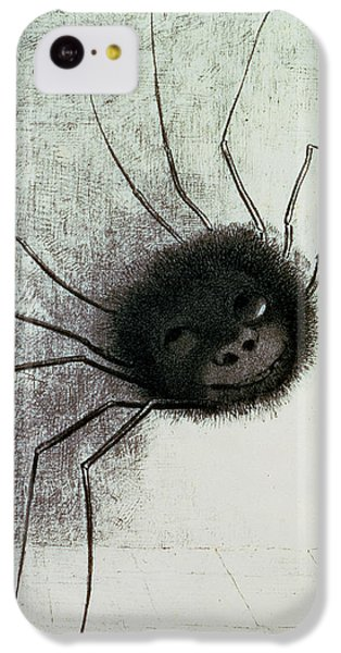 The Laughing Spider IPhone 5c Case by Odilon Redon