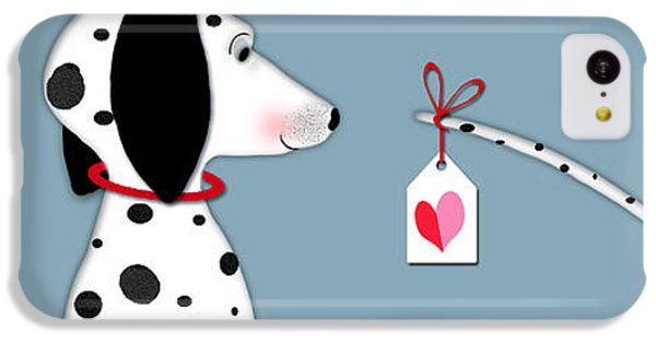 The Letter D For Dalmatian IPhone 5c Case