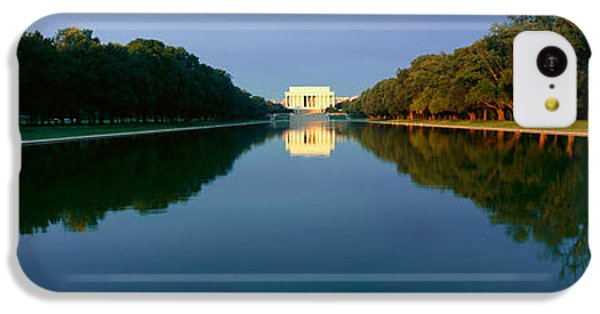 The Lincoln Memorial At Sunrise IPhone 5c Case by Panoramic Images