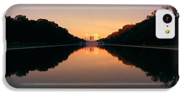 The Lincoln Memorial At Sunset IPhone 5c Case by Panoramic Images