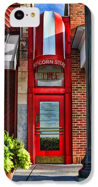 The Little Popcorn Shop In Wheaton IPhone 5c Case by Christopher Arndt