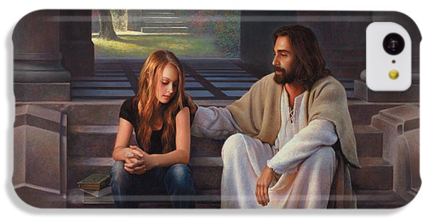The iPhone 5c Case - The Master's Touch by Greg Olsen