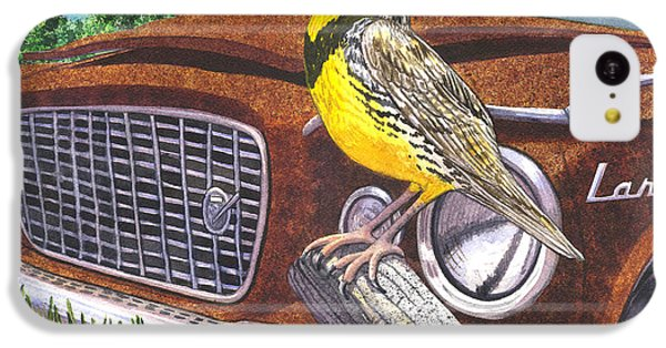 The Meadowlarks IPhone 5c Case by Catherine G McElroy