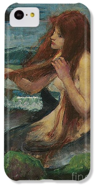 The Mermaid IPhone 5c Case by John William Waterhouse