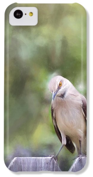 Mockingbird iPhone 5c Case - The Mockingbird by David and Carol Kelly