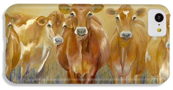 Cow iPhone 5c Case - The Morning Moo by Catherine Davis