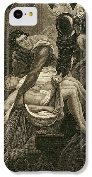 The Murder Of The Two Princes IPhone 5c Case by James Northcote