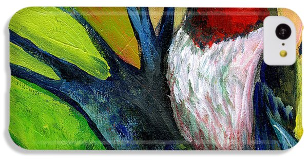 Woodpecker iPhone 5c Case - The Neverending Story No 124 by Jennifer Lommers