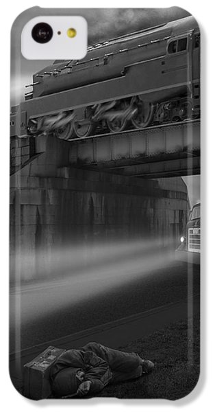 Buzzard iPhone 5c Case - The Overpass by Mike McGlothlen