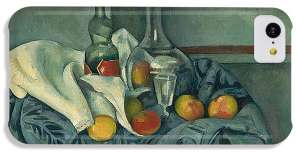 Apple iPhone 5c Case - The Peppermint Bottle by Paul Cezanne