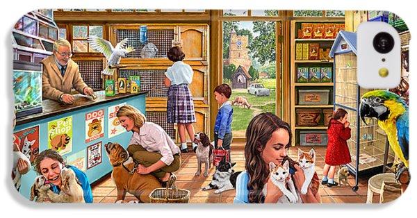 Cockatoo iPhone 5c Case - The Pet Shop by Steve Crisp