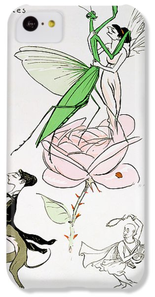 Grasshopper iPhone 5c Case - The Poets Corner by Sem