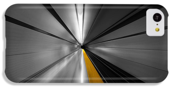 London Tube iPhone 5c Case - The Power Of Speed by Roland Shainidze