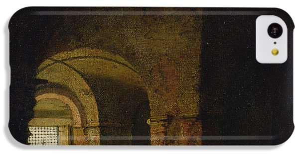 Dungeon iPhone 5c Case - The Prisoner, C.1787-90 Oil On Canvas by Joseph Wright of Derby
