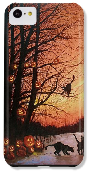 The Pumpkin Tree IPhone 5c Case