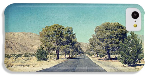 Desert iPhone 5c Case - The Roads We Travel by Laurie Search