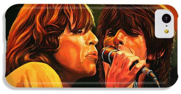 The Rolling Stones IPhone 5c Case by Paul Meijering