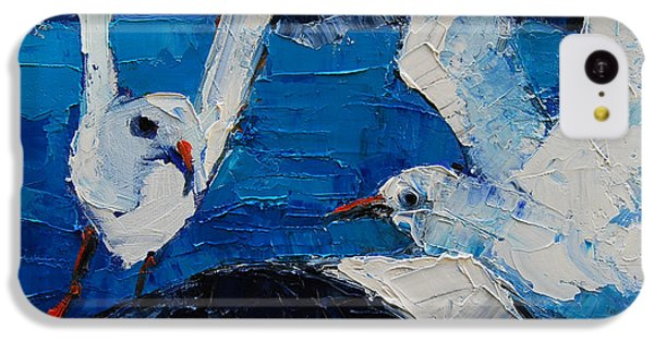 The Seagulls IPhone 5c Case by Mona Edulesco