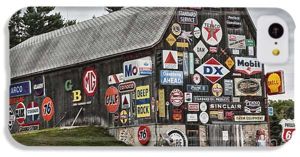 IPhone 5c Case featuring the photograph The Sign Barn by Ricky L Jones