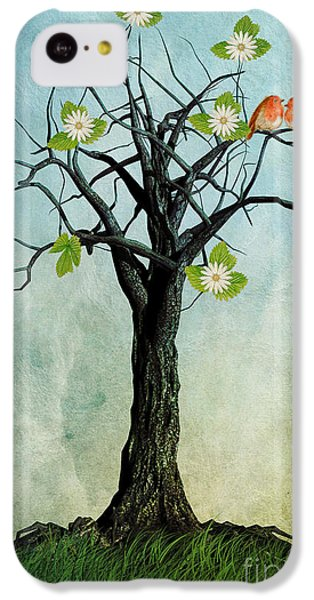 The Song Of Spring IPhone 5c Case by John Edwards