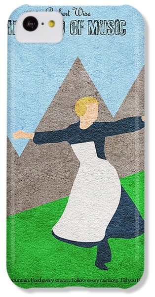 Sound iPhone 5c Case - The Sound Of Music by Inspirowl Design