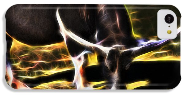 The Sparks Of Water Buffalo IPhone 5c Case by Miroslava Jurcik