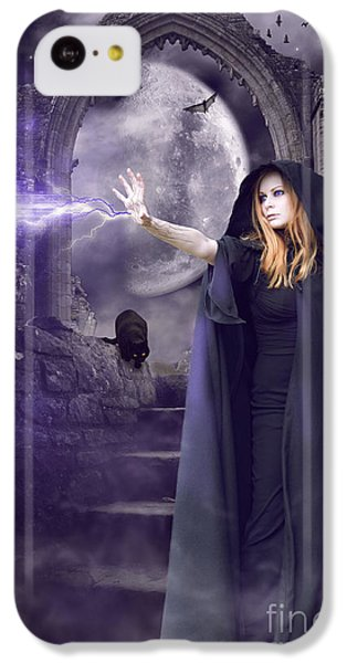 The Spell Is Cast IPhone 5c Case by Linda Lees