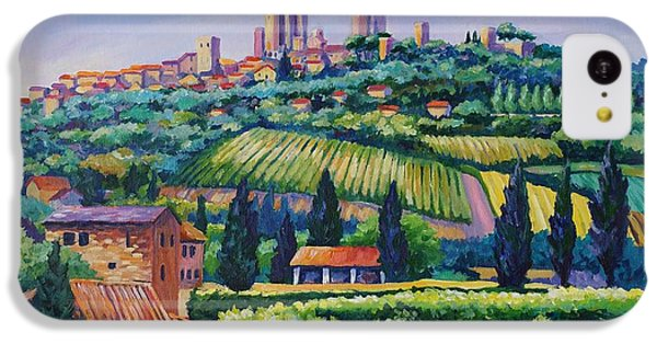 The Towers Of San Gimignano IPhone 5c Case