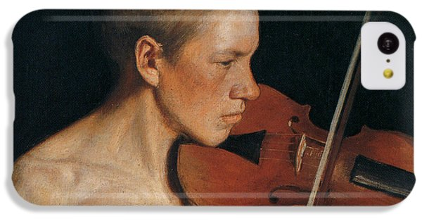 The Violinist IPhone 5c Case by Celestial Images