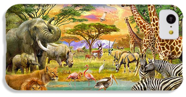 The Watering Hole IPhone 5c Case