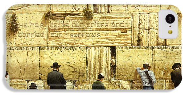 The Western Wall  Jerusalem IPhone 5c Case