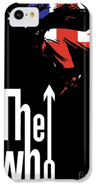 The iPhone 5c Case - The Who No.01 by Geek N Rock