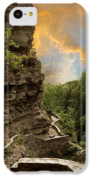 The Winding Trail IPhone 5c Case by Jessica Jenney