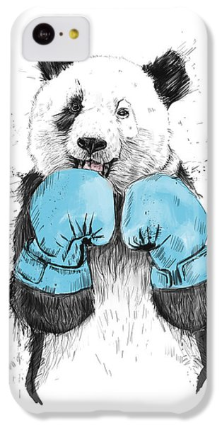Animals iPhone 5c Case - The Winner by Balazs Solti