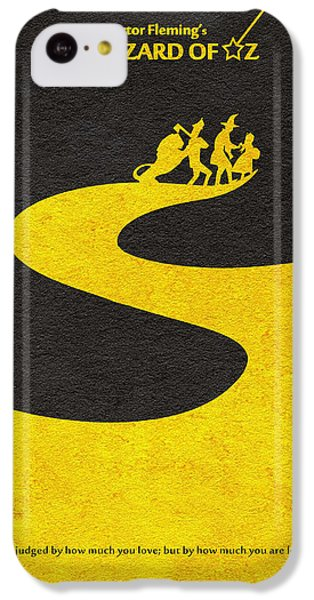 Wizard iPhone 5c Case - The Wizard Of Oz by Inspirowl Design