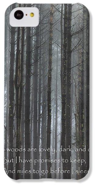 The Woods IPhone 5c Case