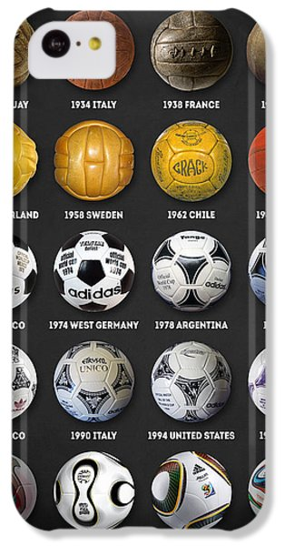The World Cup Balls IPhone 5c Case
