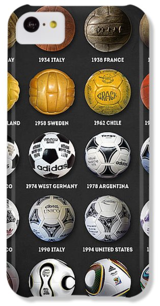 The World Cup Balls IPhone 5c Case by Taylan Apukovska