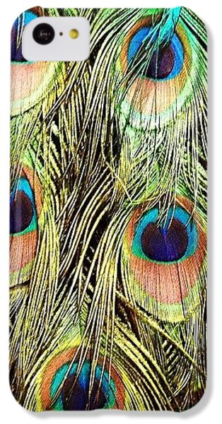 Peacock Feathers IPhone 5c Case