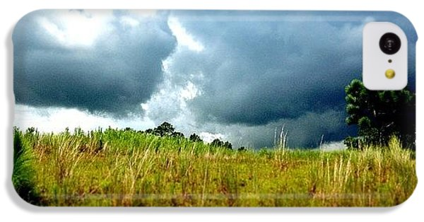Sport iPhone 5c Case - There's A Storm Brewing!!! #golf by Scott Pellegrin