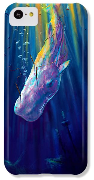 Thew White Whale IPhone 5c Case by Yusniel Santos