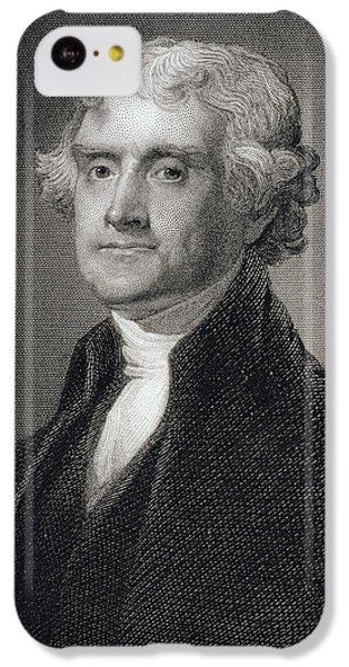 Thomas Jefferson IPhone 5c Case by Gilbert Stuart